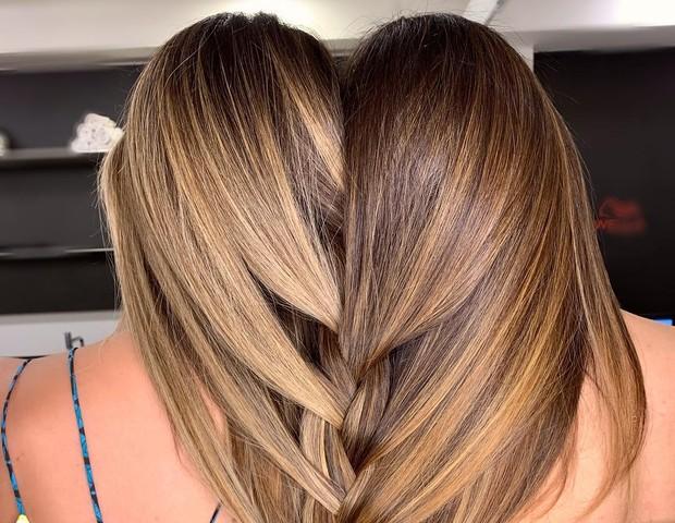 Bruna Santana e Jade Magalhães, respectivamente irmã e namorada de Luan Santana (Foto: Reprodução/Instagram)