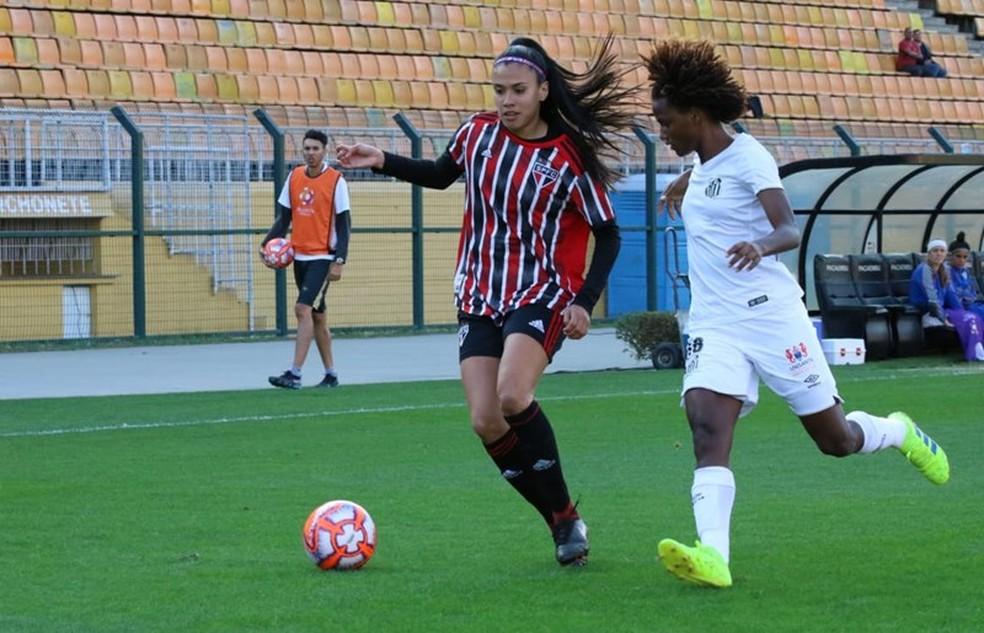 Sereias da Vila levaram a melhor nos acréscimos — Foto: Mário Jr/ME Sports