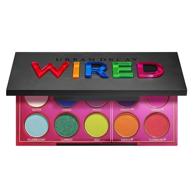 Wired Pressed Pigment Palette, R$ 299, Urban Decay (Foto: Divulgação)