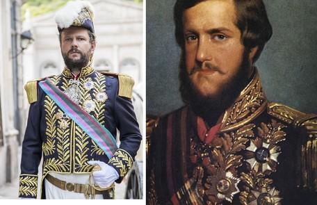 Olha como será o figurino de Selton Mello em 'Nos tempos do Imperador', novela das 18h em que viverá Dom Pedro II. Estreia em agosto Globo e arquivo