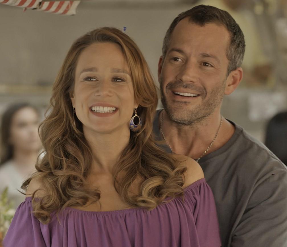 Apolo e Tancinha tem ideia inusitada para o casório — Foto: TV Globo