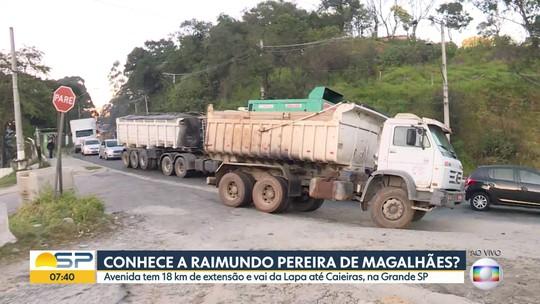 BDSP percorre a Av. Raimundo Pereira de Magalhães