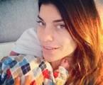 Joana Balaguer com o filho, Martin | Arquivo pessoal