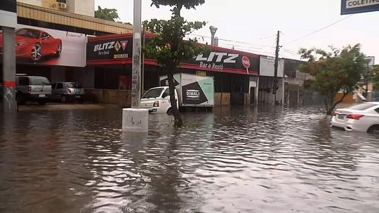 Fortaleza registra maior chuva do ano; choveu 70.4 mm, diz Funceme