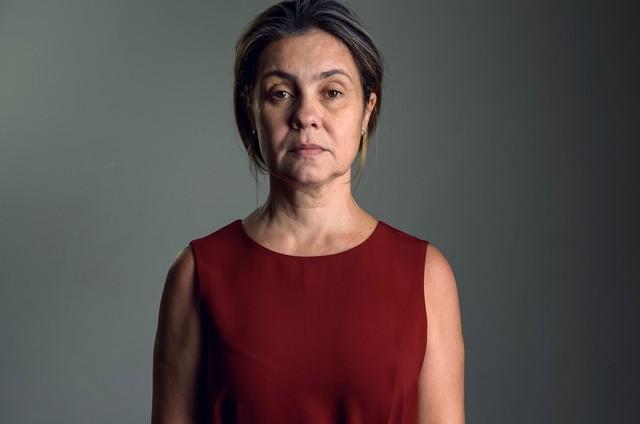 Adriana Esteves em 'Assédio' (Foto: Ramón Vasconcelos/ TV Globo)