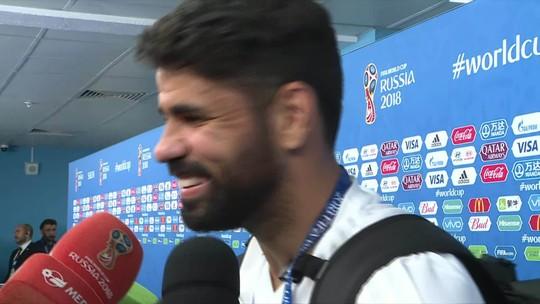 """Diego Costa reitera sonho por título, mas elege Brasil como """"maior favorito"""""""