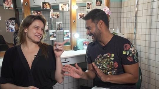Fernanda Gentil se diverte no quiz 'Fala ou Disfarça'