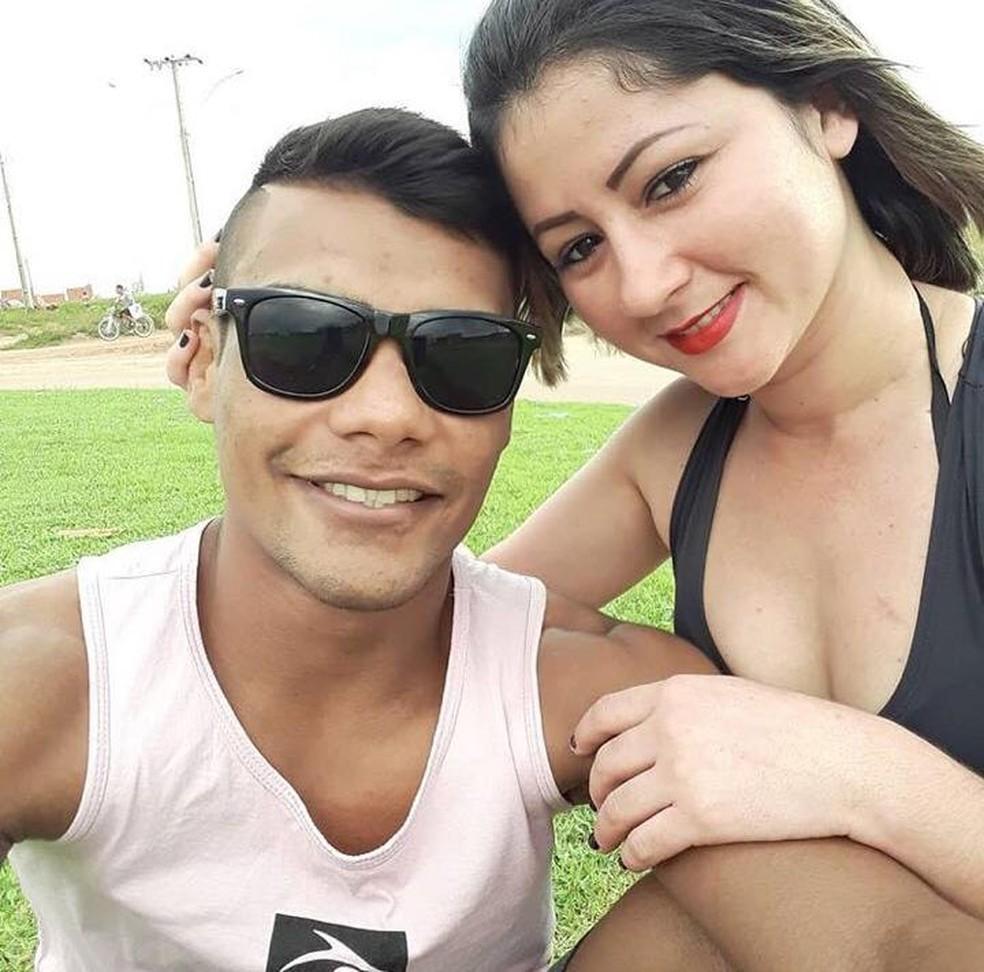 Raulian Paiva e Tieli namoram há dez meses — Foto: Arquivo Pessoal
