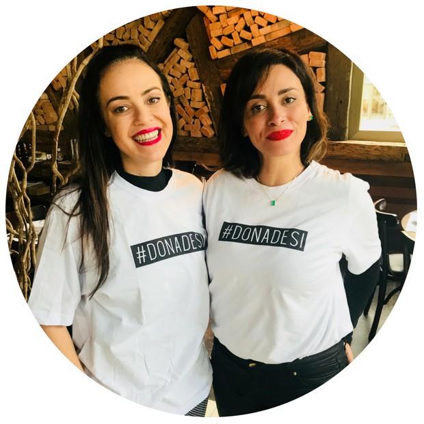 Crisciane Rodrigues e Suzi Pires (Foto: Arquivo pessoal)