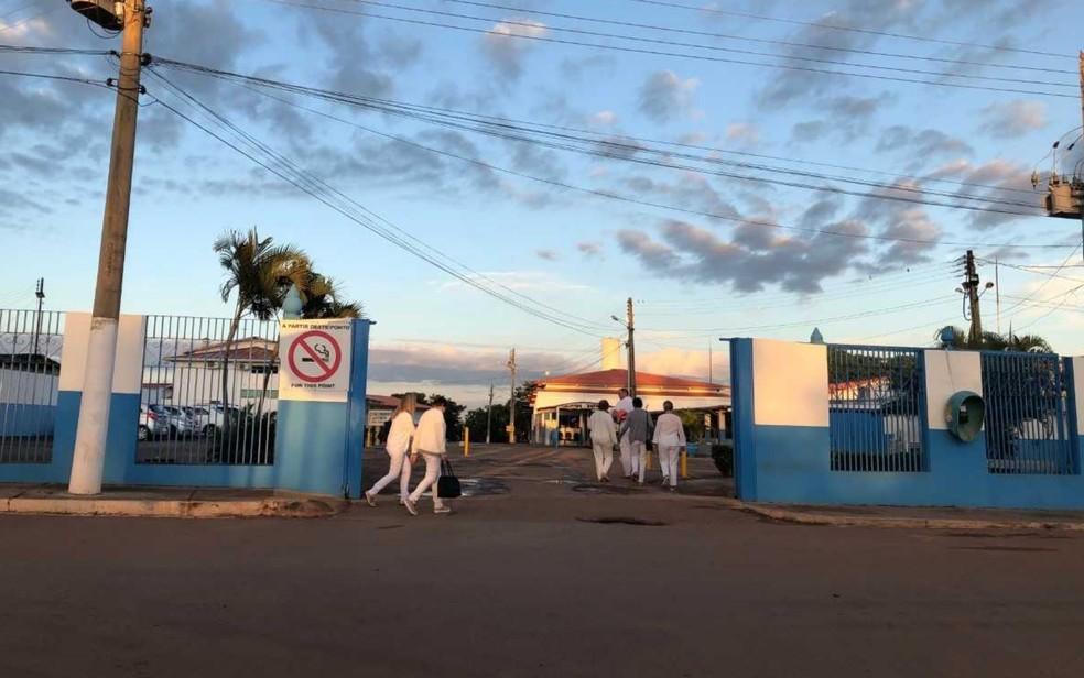 Crimes teriam acontecido na Casa Dom Inácio de Loyola, em Abadiânia, Goiás — Foto: Murillo Velasco/ G1