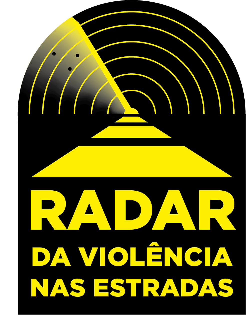 Selo do Radar da Violência nas Estradas (Foto: Fernado Carmo/Arte NSC TV)