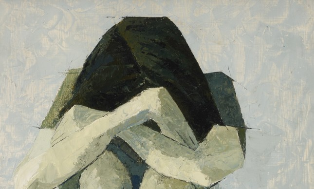 Depression II, 1975 (oil on board) by Patrick, Marion (1940-93)