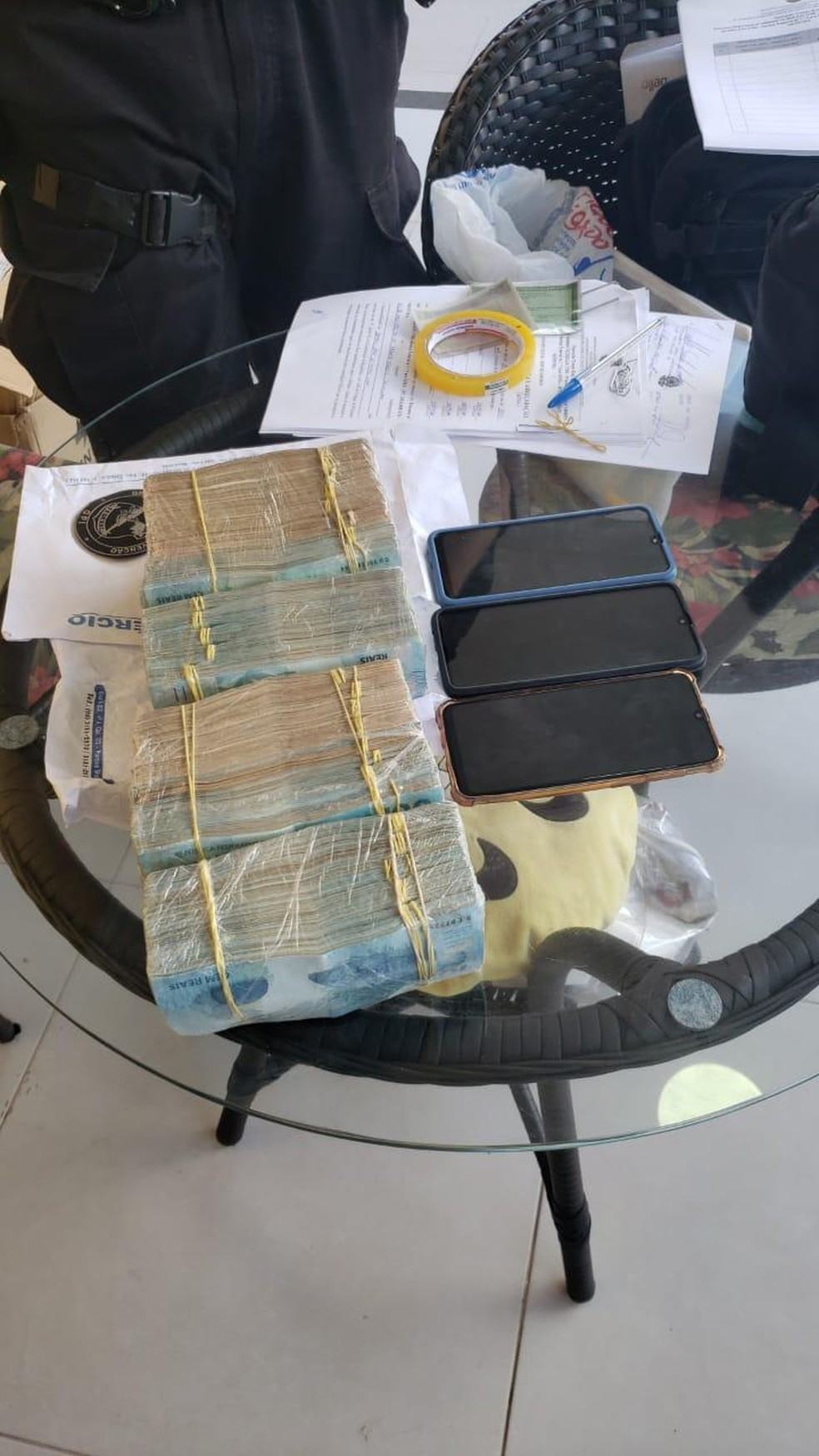 Ex-servidores da Semus de São Luís são alvos de operação da PF que apura fraude e superfaturamento na compra de máscaras — Foto: Divulgação/Polícia Federal