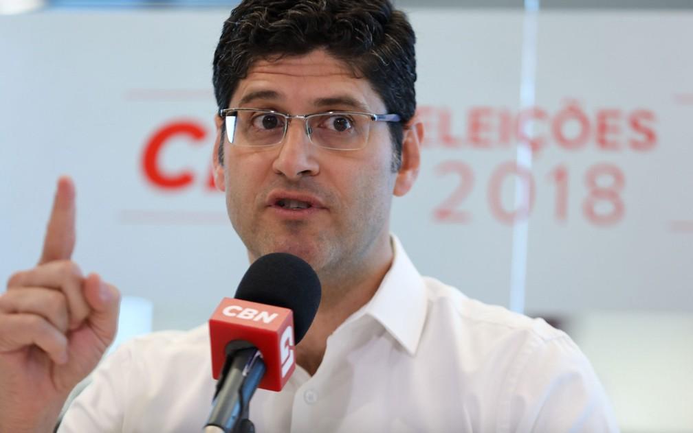 Rogerio Chequer, candidato do Novo ao governo de SP — Foto: Marcelo Brandt/G1