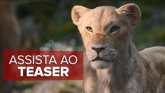 'O Rei Leão': Novo teaser apresenta voz de Beyoncé pela primeira vez