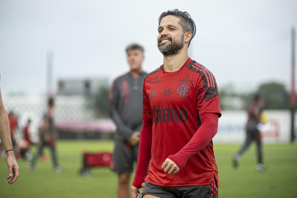 Diego Flamengo — Foto: Alexandre Vidal / Flamengo