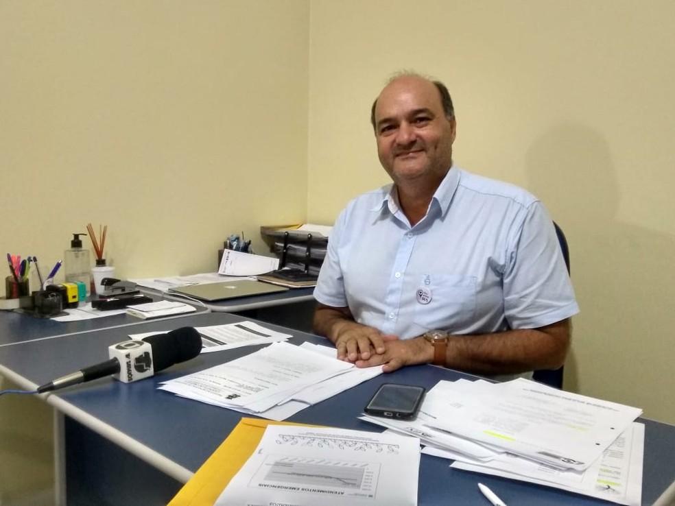 Médico André Franco é diretor técnico do Instituto Panamericano de Gestão — Foto: Geovane Brito/G1