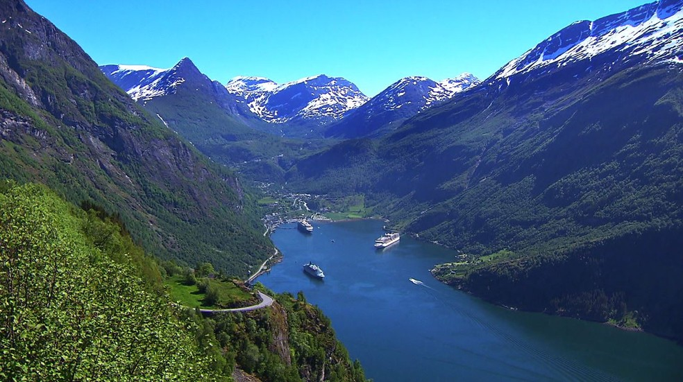 Noruega — Foto: Globo Repórter