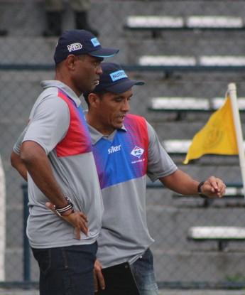 Técnico Marcão, Piaui  (Foto: Renan Morais/GloboEsporte.com )