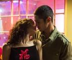 Gabriel Leone e Carla Salle em 'Onde nascem os fortes' | Estevam Avellar/TV Globo