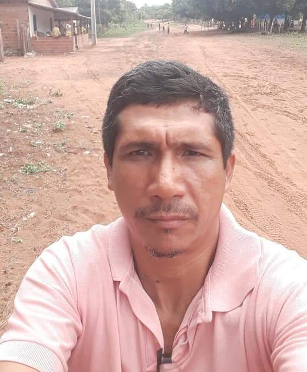 Líder indígena Zezico Guajajara foi encontrado morto na Terra Indígena Araribóia em Arame, no Maranhão. — Foto: Divulgação/Cimi
