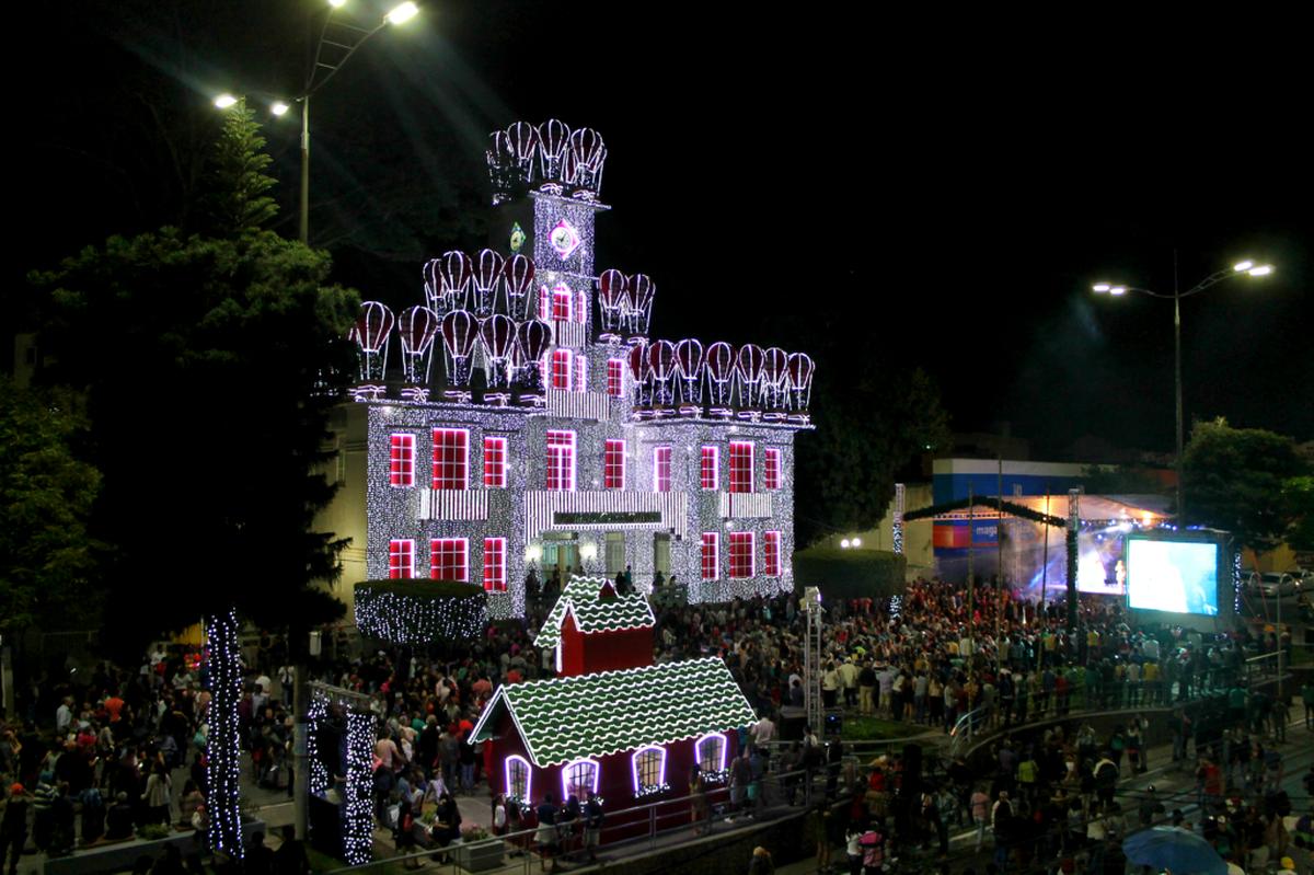 Programação do 'Magia do Natal' é aberta oficialmente em Garanhus