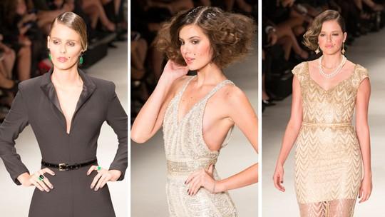 Angel e modelos desfilam glamour na passarela; veja vídeo exclusivo