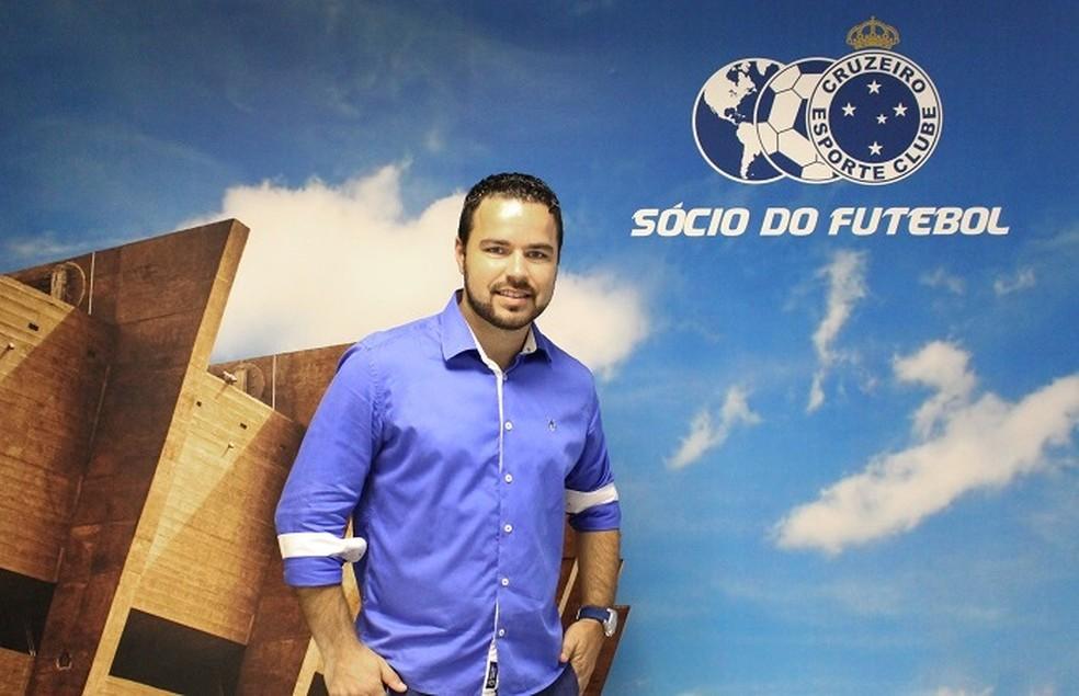 Leandro Freitas é o novo gerente de relacionamento com o torcedor (Foto: Divulgação/Cruzeiro)