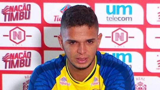 Bruno dá adeus emocionado, com gosto de retorno no futuro ao Náutico