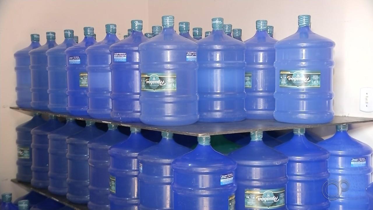 Crise no abastecimento em Bauru faz crescer venda de água mineral
