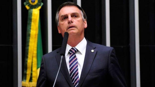 Em sua primeira disputa presidencial, Jair Bolsonaro (foto) foi eleito com 55,13% dos votos (Foto: Agência Câmara dos Deputados via BBC News Brasil)