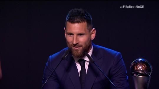Fifa The Best: pela sexta vez, Messi é eleito melhor jogador do mundo