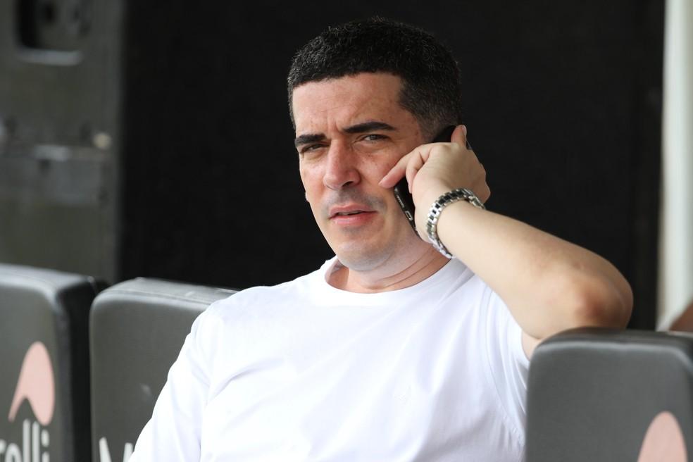 Constantino Júnior, presidente do Santa Cruz — Foto: Marlon Costa / Pernambuco Press