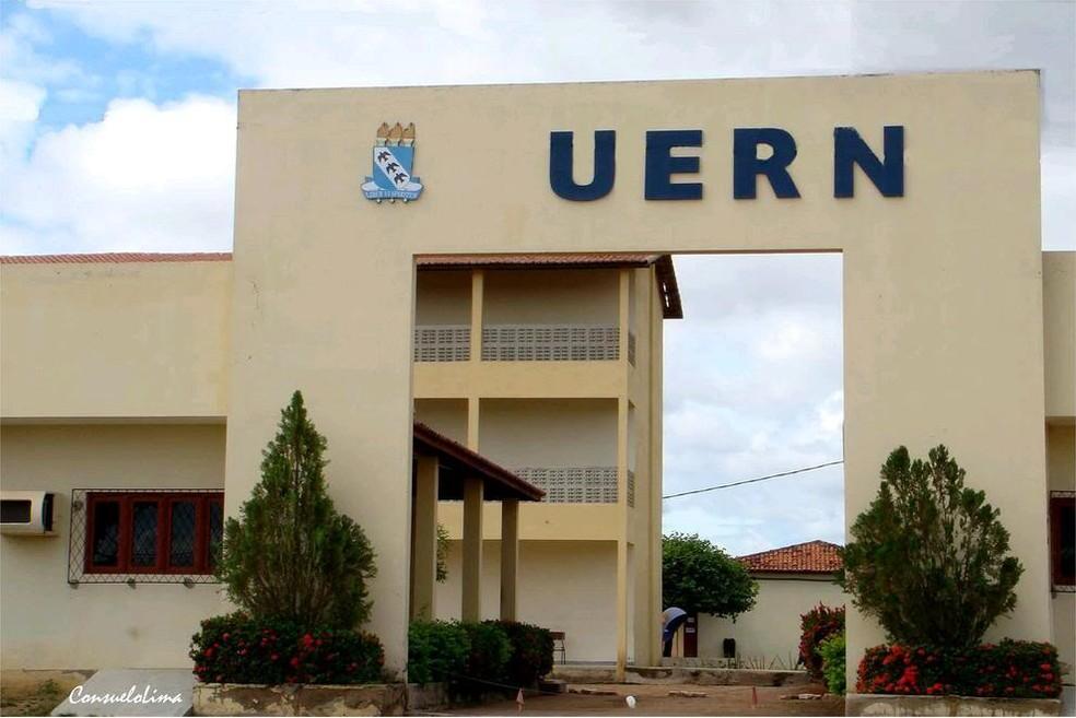 Fachada da UERN em Mossoró, região Oeste potiguar (Foto: Divulgação/UERN)
