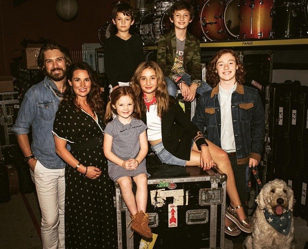 Taylor Hanson família (Foto: Reprodução/Instagram)