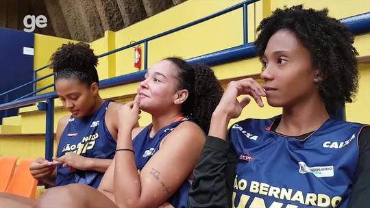 Na bola e na resenha: uma tarde de basquete feminino em São Bernardo