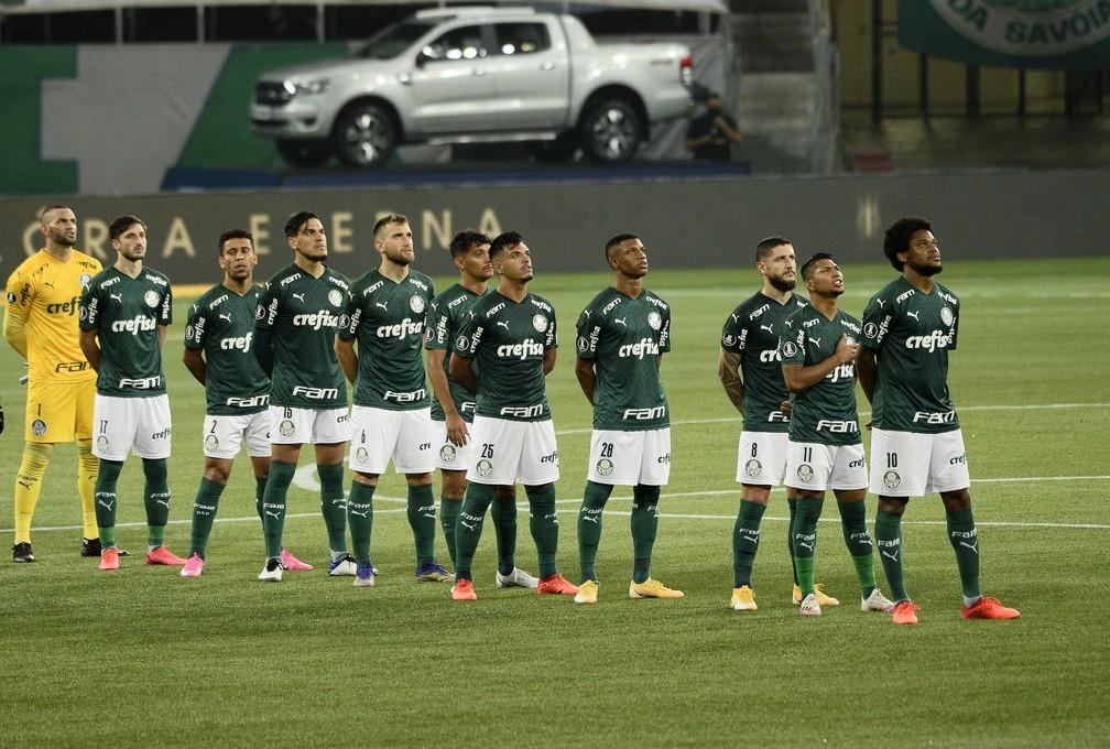 Palmeiras tem três jogos difíceis para se recompor e retomar o alto padrão — Foto: Marcos Ribolli