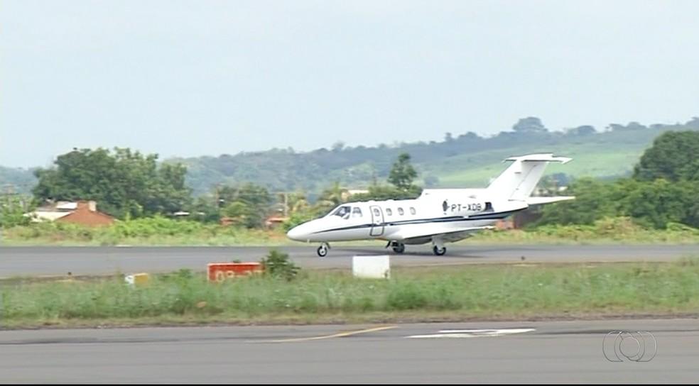 Aeroporto de Araguaína deve receber recursos do governo federal  (Foto: Reprodução/TV Anhanguera)