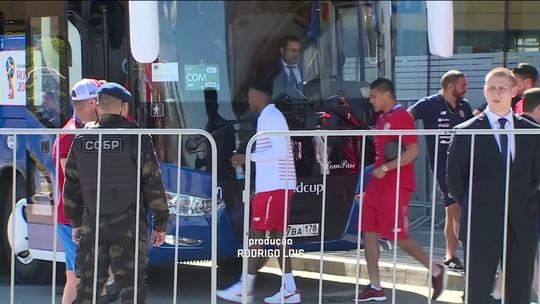 Seleção da Costa Rica se isola em treinamento