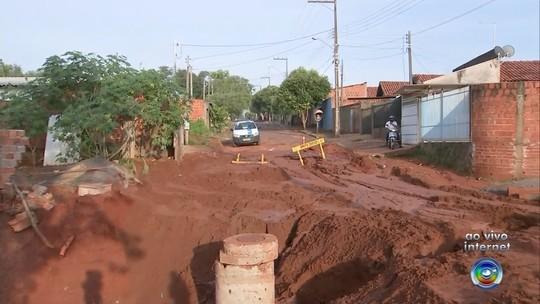 Abastecimento de água começa a ser restabelecido em Paraguaçu Paulista