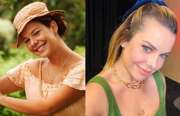Fernanda Souza viveu a caipira Mirna, que tinha o sonho de se casar. Depois de comandar o 'SóTocaTop', em 2018, a atriz tirou um período sabático (Foto: TV Globo / Reprodução)