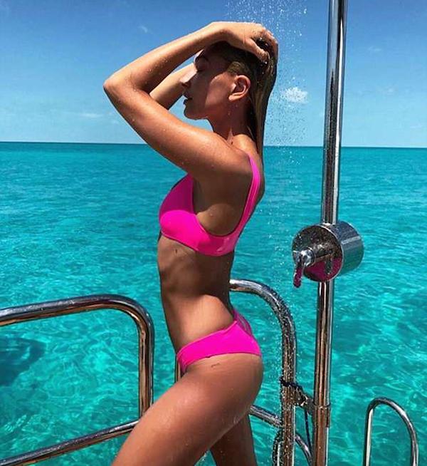 A modelo Hailey Baldwin (Foto: Instagram)