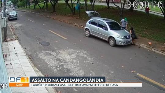 Casal é assaltado na Candangolândia