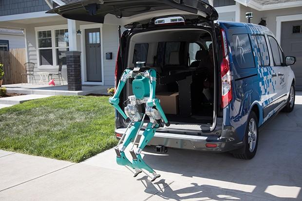 Veículos autônomos serão responsáveis pela locomoção dos robôs (Foto: Divulgação)