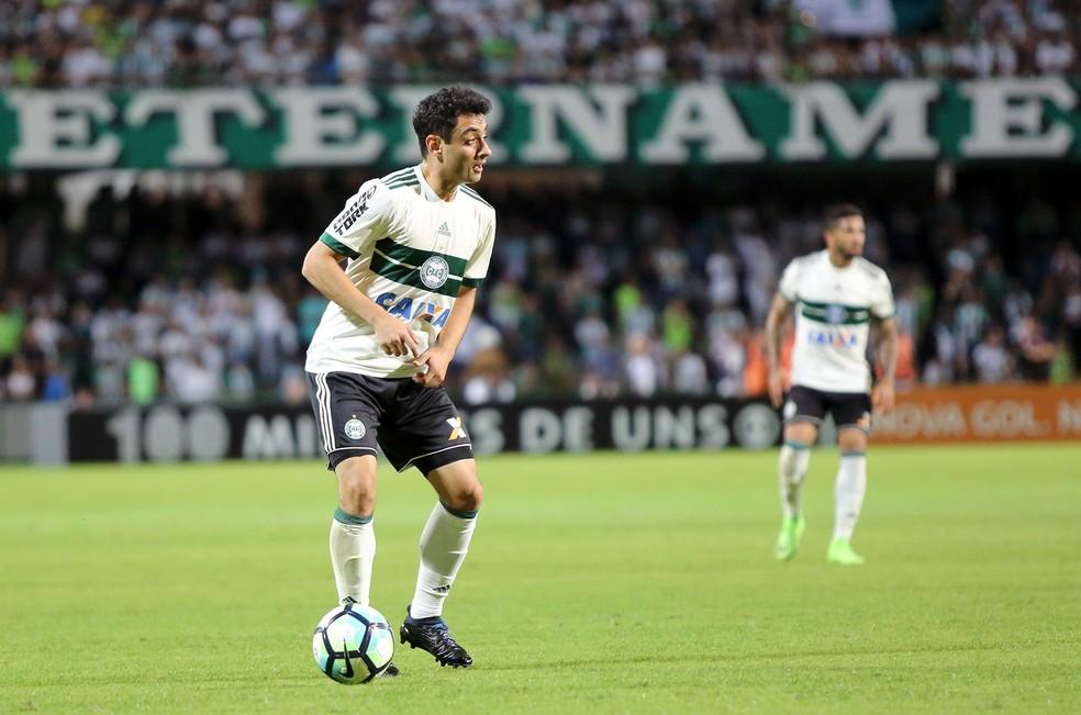 Daniel Freitas jogou pelo Coritiba em 2017 — Foto: Divulgação/Coritiba