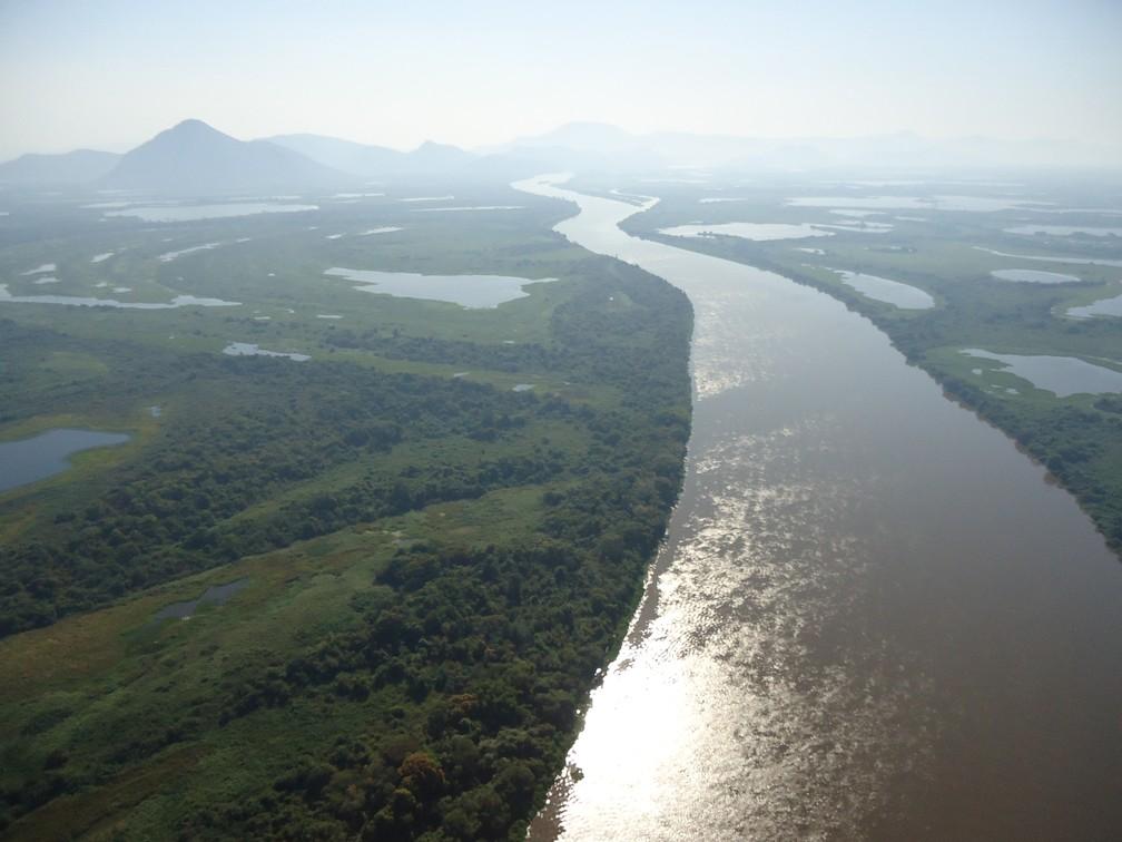 Rio é o oitavo maior em curso de água da América do Sul — Foto: TVCA