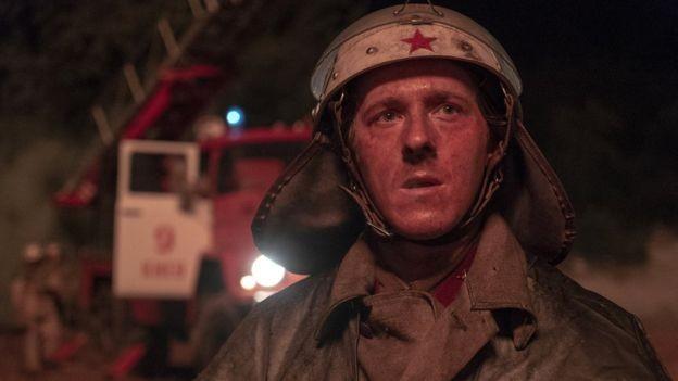 Vasily Ignatenko (Adam Nagaitis), um dos protagonistas da série da HBO, era um bombeiro recém-casado (Foto: Divulgação/HBO)