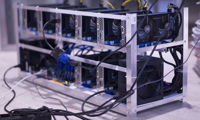 Máquina para 'mineração' de bitcoin