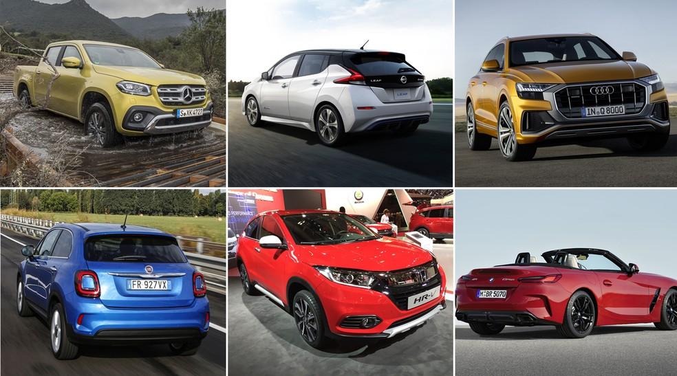 Carros que devem ser destaques do Salão do Automóvel de 2018 — Foto: Divulgação