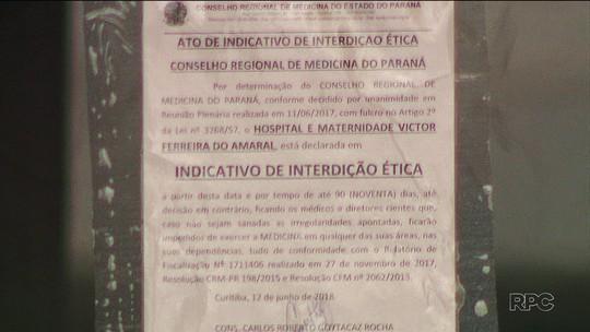 CRM aponta série de irregularidades na maternidade mais antiga do Paraná